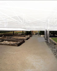 Protection and musealization of the gallo-roman villa of Séviac