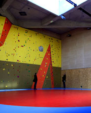 Gymnastics building