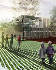 Nuova Scuola dell'infanzia a Molino Nuovo, nuova sala multiuso e riqualifica degli spazi esterni per il quartiere