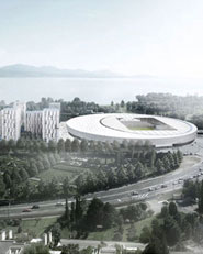 Sports complex and urban re-design