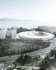 Sports complex and urban re-design
