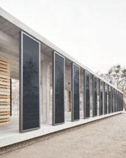Photovoltaik-Pavillon