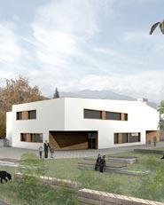 Nuova costruzione scuola materna e sala prove musica Sluderno