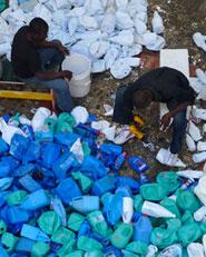 RUS Santo Domingo: Tsunami de basura