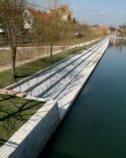 Preureditve nabrežij in mostovi na Ljubljanici