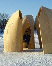 Winnipeg Skating Shelters