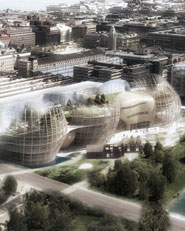 Helsinki Central Library Open International Architectural Competition / The Heart of the Metropolis