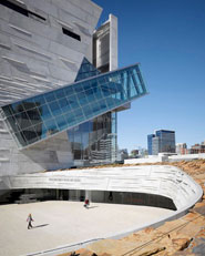 Perot Museum of Nature and Science in Victory Park