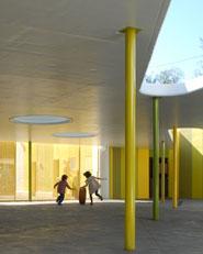 Cubrición para el patio de la Escuela Municipal Infantil de La Herradura
