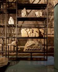 Allestimento permanente degli elementi architettonici delle Terme di Caracalla