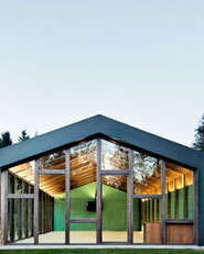 Multifunctional pavillion in Viladrau