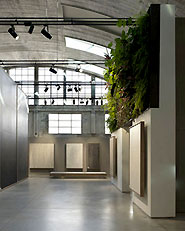 Sala mostra Cooperativa Ceramica d'Imola, FASE I