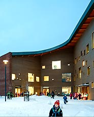 Saunalahti comprehensive school