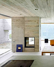 New concrete house in S.Abbondio