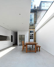 Extension in Queen's Park,  London - 01