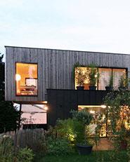 Passive House in legno a Bagnolet