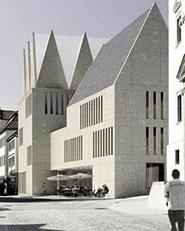 Neubau Stadtbibliothek Rottenburg a.N.