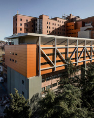 Nuevo bloque quirúrgico. Hospital General Vall d'Hebrón. Barcelona