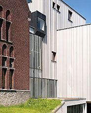 New wing of the Charleroi Museum of Photography