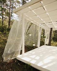 Un pavillon d'été
