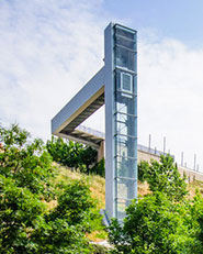 Urban Elevator in Echavacoiz