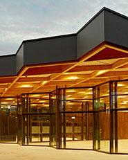 Festival Hall 'Neckarallee' in Neckartailfingen