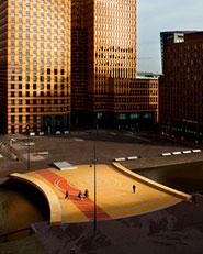 Lex van Deldenbrug - Zuidas Amsterdam