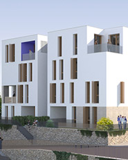 Edificio destinato ad Housing Sociale in Santeramo in Colle