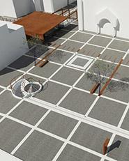 Riqualificazione isola archeologica del mosaico romano in piazza San Vitale. San Salvo