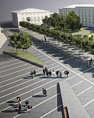 Riqualificazione aree e spazi pubblici di piazza Libertà. Avellino