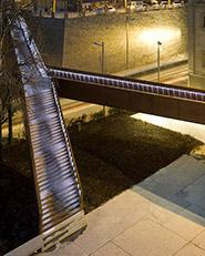 Footbridge Around the Bastion of Labrit in Pamplona