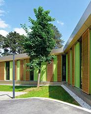 Palliative pavilion