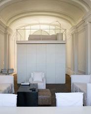 Un interno e un ambulatorio - Palazzo Barilari Ancona