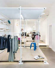 Design and fashion concept store in Berlin by KONTENT