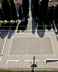 Aula di Cromazio e piazze della Basilica di Aquileia