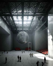 WXCA proposal for The Museum of Modern Art in Warsaw and TR Warszawa theatre.
