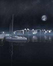 """""""Laguna Landscape"""". Riqualificazione dell'isola del Buon Castello a Sottomarina"""