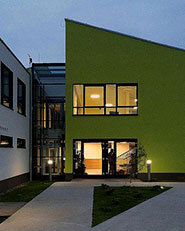 Passive school building in Chotomów, Poland