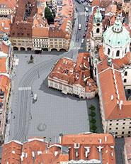 Malostranské náměstí v Praze