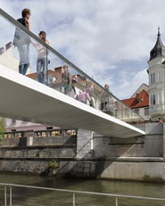Footbridge Ribja Brv