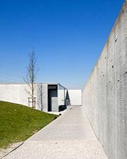 Tyne Cot Military Cemetry Entrance pavilion