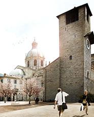 Riqualificazione di piazza Grimoldi, via Pretoria/piazza Roma. Como