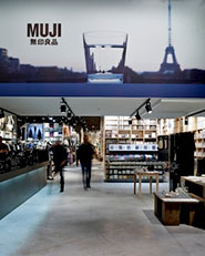 MUJI european flagship store in Paris