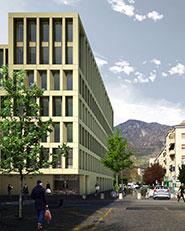 Nuova sede dell'Istituto per l'Edilizia Sociale della Provincia Autonoma di Bolzano