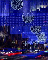 MOON – Christmas lights