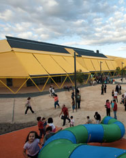 Ecopolis Plaza kindergarten and new public space