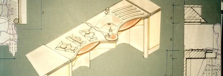 Hermes Travaglini — progetto per mobili da Cucina per disabili ...