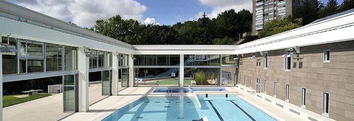 Nicolas c guillot architecte piscine de caluire et for Caluire piscine