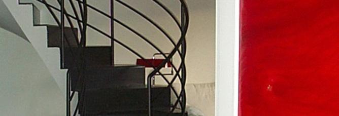 Alessandra bia loft su due piani a matera 1998 print for Piani di costruzione loft