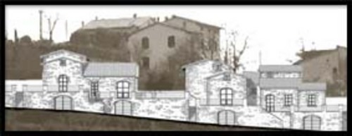Federico Materazzi ARCHITETTO — Progetto di villette bifamiliari.